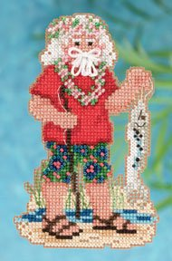 Mill Hill Bead Kit Tropical Santas - Tahiti Santa THUMBNAIL