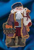 Mill Hill Bead Kit Celebration Santas - Joyeux Noel Santa THUMBNAIL