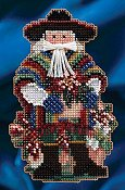 Mill Hill Bead Kit Celebration Santas - Feliz Navidad Santa THUMBNAIL