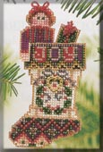 Mill Hill Bead Kit Holiday Stocking Ornaments - Joyful Stocking THUMBNAIL