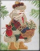 Mill Hill Bead Kit Mountaineer Santas - Mt. Rainier Santa THUMBNAIL