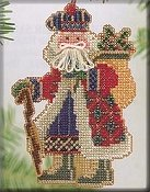 Mill Hill Bead Kit Mountaineer Santa - Mt. McKinley Santa THUMBNAIL