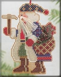 Mill Hill Bead Kit Mountaineer Santa - Mt. Whitney Santa MAIN