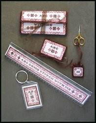 Milady's Needle - ABC Come Stitch With Me MAIN