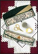 Milady's Needle - Little Bees Ruler Pocket THUMBNAIL