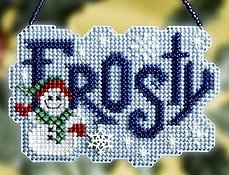 Ornament Series 2008 Winter Greetings - Frosty THUMBNAIL