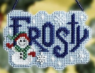 Ornament Series 2008 Winter Greetings - Frosty MAIN