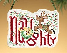 Ornament Series 2009 Winter Greetings - Naughty THUMBNAIL