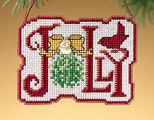 Ornament Series 2009 Winter Greetings - Jolly THUMBNAIL