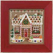 Buttons & Beads 2010 Winter Series - Ginger Bread House_THUMBNAIL
