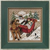 Buttons & Beads 2010 Winter Series - Through the Woods THUMBNAIL