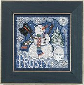 Buttons & Beads 2010 Winter Series - Frosty Snowman THUMBNAIL