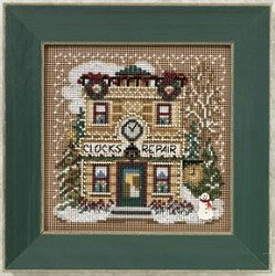 Buttons & Beads 2010 Winter Series - Clock Shoppe MAIN