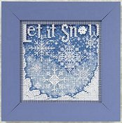 Buttons & Beads 2010 Winter Series - Snowfall THUMBNAIL