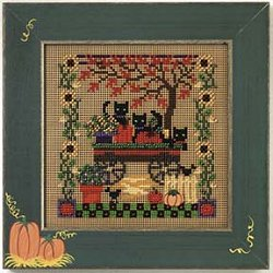 Buttons & Beads 2005 Autumn Series - Scardy Cats MAIN
