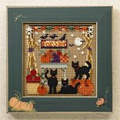 Buttons & Beads 2006 Autumn Series - Bountiful Kitties THUMBNAIL