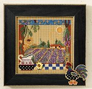Buttons & Beads 2007 Autumn Series - Lavender Fields THUMBNAIL
