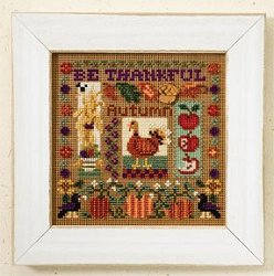 Buttons & Beads 2007 Autumn Series - Be Thankful MAIN