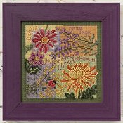 Buttons & Beads 2010 Autumn Series - Fall Blooms THUMBNAIL