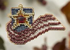 Ornament Series 2008 Autumn Harvest - Stars And Stripes