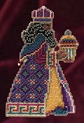 Mill Hill Bead Kit Magi Trilogy - Balthasar THUMBNAIL