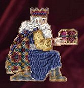 Mill Hill Bead Kit Magi Trilogy - Gaspar THUMBNAIL