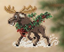 Ornament Series 2011 Winter Holiday - Merry Moose THUMBNAIL