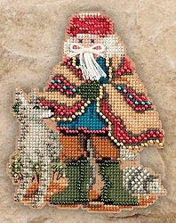 Mill Hill Bead Kit Southwest Santas - Mesa Santa MAIN