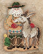 Mill Hill Bead Kit Southwest Santas - Desert Santa THUMBNAIL