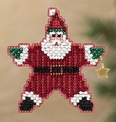 Ornament Series 2011 Winter Holiday - Star Santa THUMBNAIL