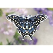 Ornament Series 2011 Spring Bouquet - Black Swallowtail THUMBNAIL