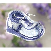 Ornament Series 2011 Spring Bouquet - Blue Sneaker THUMBNAIL