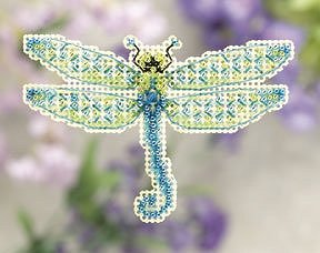 Ornament Series 2011 Spring Bouquet - Dragonfly MAIN