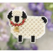Ornament Series 2011 Spring Bouquet - Little Lamb THUMBNAIL