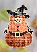Ornament Series 2011 Autumn Harvest - Pumpkin Man THUMBNAIL