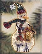 Mill Hill Snow Charmer Kit - Birdhouse THUMBNAIL