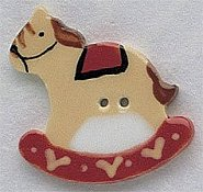 Mill Hill Button - 86004 Large Rocking Horse THUMBNAIL