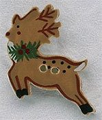 Mill Hill Button - 86147 Reindeer