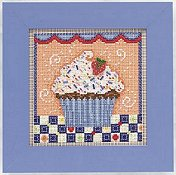 Buttons & Beads 2011 Spring Series - Chocolate Cupcake THUMBNAIL