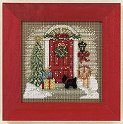 Buttons & Beads 2011 Winter Series - Home for Christmas THUMBNAIL