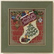 Buttons & Beads 2011 Winter Series - Holiday Stocking THUMBNAIL