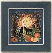 Buttons & Beads 2011 Autumn Series - Moonlit Kitties THUMBNAIL