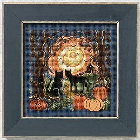 Buttons & Beads 2011 Autumn Series - Moonlit Kitties MAIN