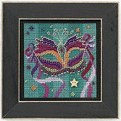 Buttons & Beads 2011 Spring Series - Purple Mask THUMBNAIL