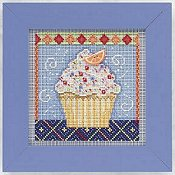 Buttons & Beads 2011 Spring Series - Vanilla Cupcake