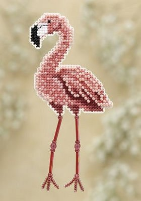 Ornament Series 2010 Spring Bouquet - Flamingo MAIN