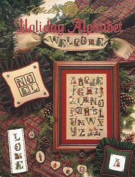 Mill Hill Book - Holiday Alphabet MAIN