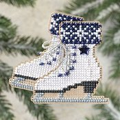 Ornament Series 2009 Winter Holiday - Ice Skates THUMBNAIL