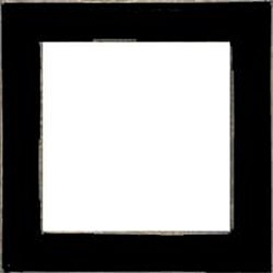 Mill Hill Wood Frame - 6x6 Matte Black MAIN