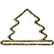 Mill Hill Metal Bell Pull - Brushed Gold Mini Tree